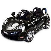 Caretero Aero Battery Operated Ride-On Car (Black)
