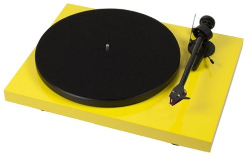 PROJECT DEBUT CARBON TURNTABLE (GLOSS YELLOW)