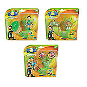"Tree Fu Tom Deluxe 3"" Figure - Tom, Twiggs & Ariela 3 Items"