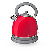 Swan SK261020 1.8L Retro Kettle with 3000w Power and Automatic Cut-Off in Red