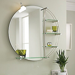 Ultra Magnum Mirror with Light