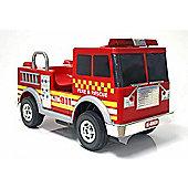 Kids Electric Car Fire Truck 12 Volt Red