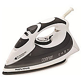 Morphy Richards 300006 Comfigrip Diamond Soleplate Steam Iron - Grey/White