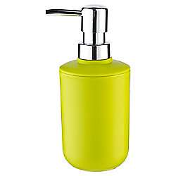 Tesco Basic Plastic Soap Dispenser, Lime