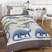 Dinosaur Facts, Junior Bedding - Cream