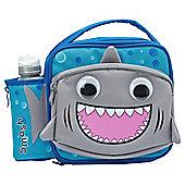 Smash 3D Shark Lunch Bag and Water Bottle Set