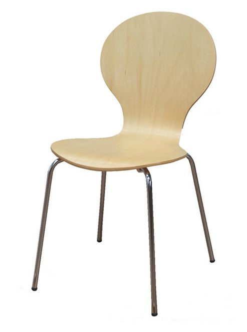 Furniture Link Soho Dining Chair in Natural (Set of 4)