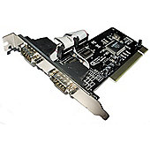 Dynamode PCI-RS232 (PCI-RS232) PCI to Serial Dual Port Adapter Card