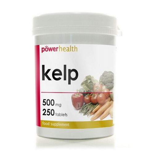 Power Health Kelp 250 Tablets 500mg