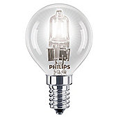Philips EcoClassic Halogen P45 28 W E14 Small Edison Screw Warm White Light Bulb