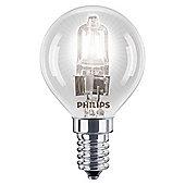 Philips EcoClassic Halogen P45 28 W E14 Small Edison Screw Warm White Light Bulb