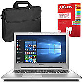 "Lenovo Z50-75 80EC00N5UK 15.6"" Laptop With BullGuard Internet Security & Case"