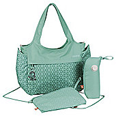 Okiedog Khanda Celeb Changing bag, Emerald Green