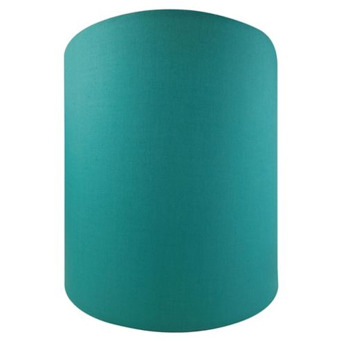 Tesco Lighting Drum Shade 22X22cm, Steal