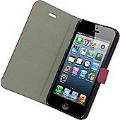 Tortoise™ Deluxe Slimline Folio Case iPhone 5/5S Pink.
