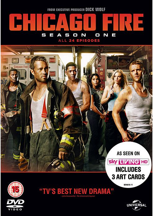 Chicago Fire S1 DVD