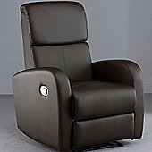 World Furniture Picasso Recliner - Brown