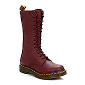 Dr. Martens Womens Cherry Red 1B99 VirginiaLeather Boots - Red