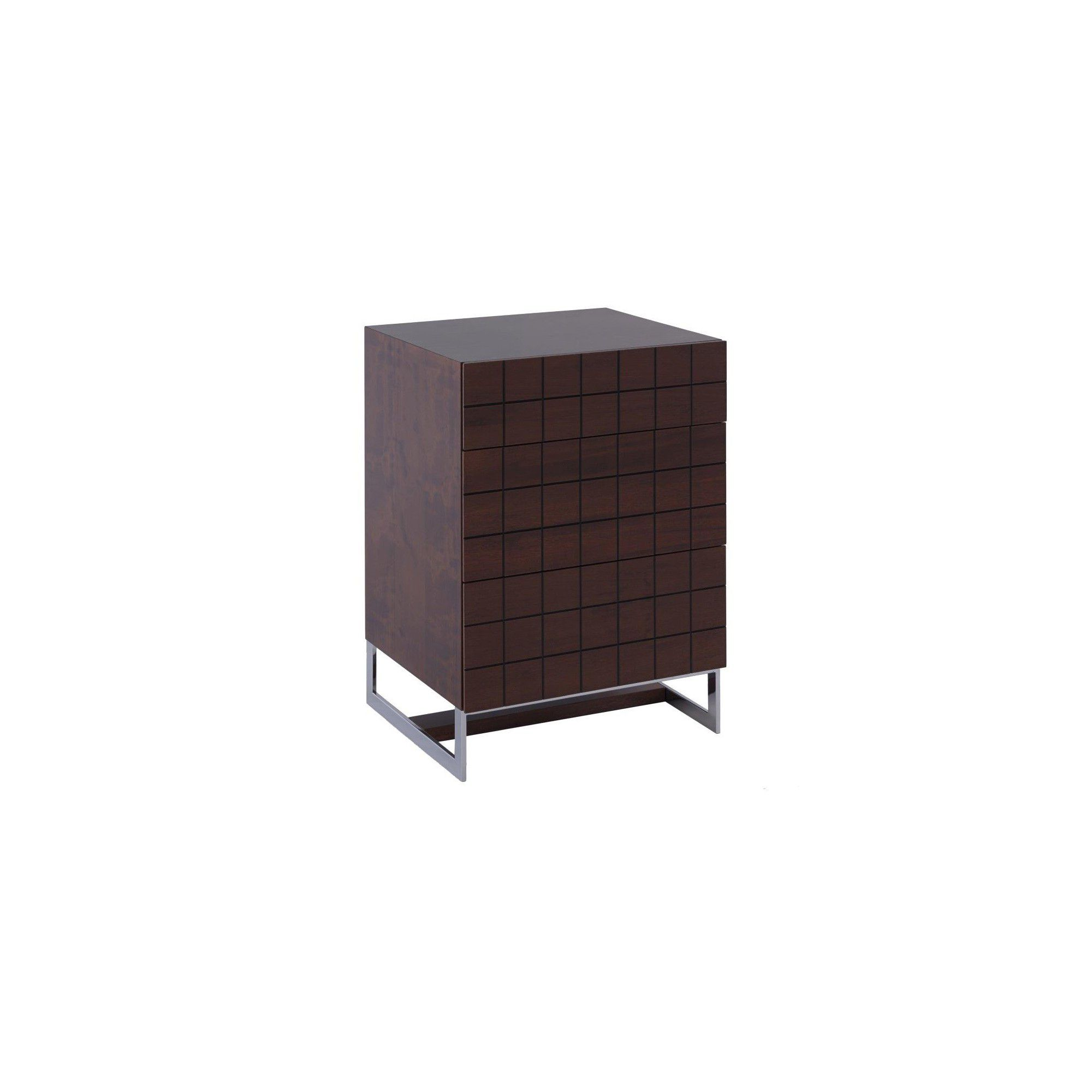 Gillmore Space Barcelona 3 Drawer Chest - Walnut at Tesco Direct