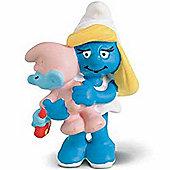 Schleich Smurf Favourites Smurfette with Baby