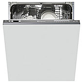 Hotpoint LTF8B019UK Fullsize Dishwasher, A+ Energy Rating, Graphite