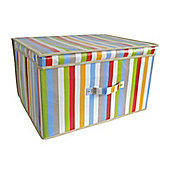 Country Club Jumbo Storage chest, Miami Stripe, 50 x 40 x 30cm