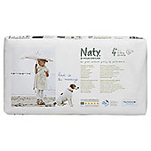 Naty By Nature Babycare Nappies Size 4+ Economy Pack X 44'S