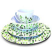 Bewdley 16 Piece Melamine Set (4 Person)