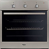 Whirlpool AKP 214/IX Integrated Oven Inox Circa Fan Class A Single Glazed Door