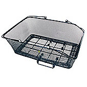 Basil California XLarge Rear Basket w/ Basco Mount Black (Rear Rack Req)