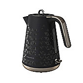 Morphy Richards 108251 Prism Textured Jug Kettle - Black