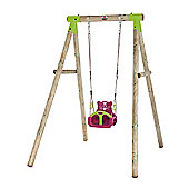 Plum Quoll Wooden Pole Swing Set
