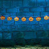 Pumpkin Halloween Lights - 1.2m