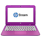 HP Stream 11-d011na 11.6-inch Laptop, Intel Celeron, 2GB RAM, 32GB eMMC - Pink