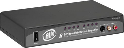 Av Tool AVT4818 1X8 S-Video & Audio Distribution Amplifier