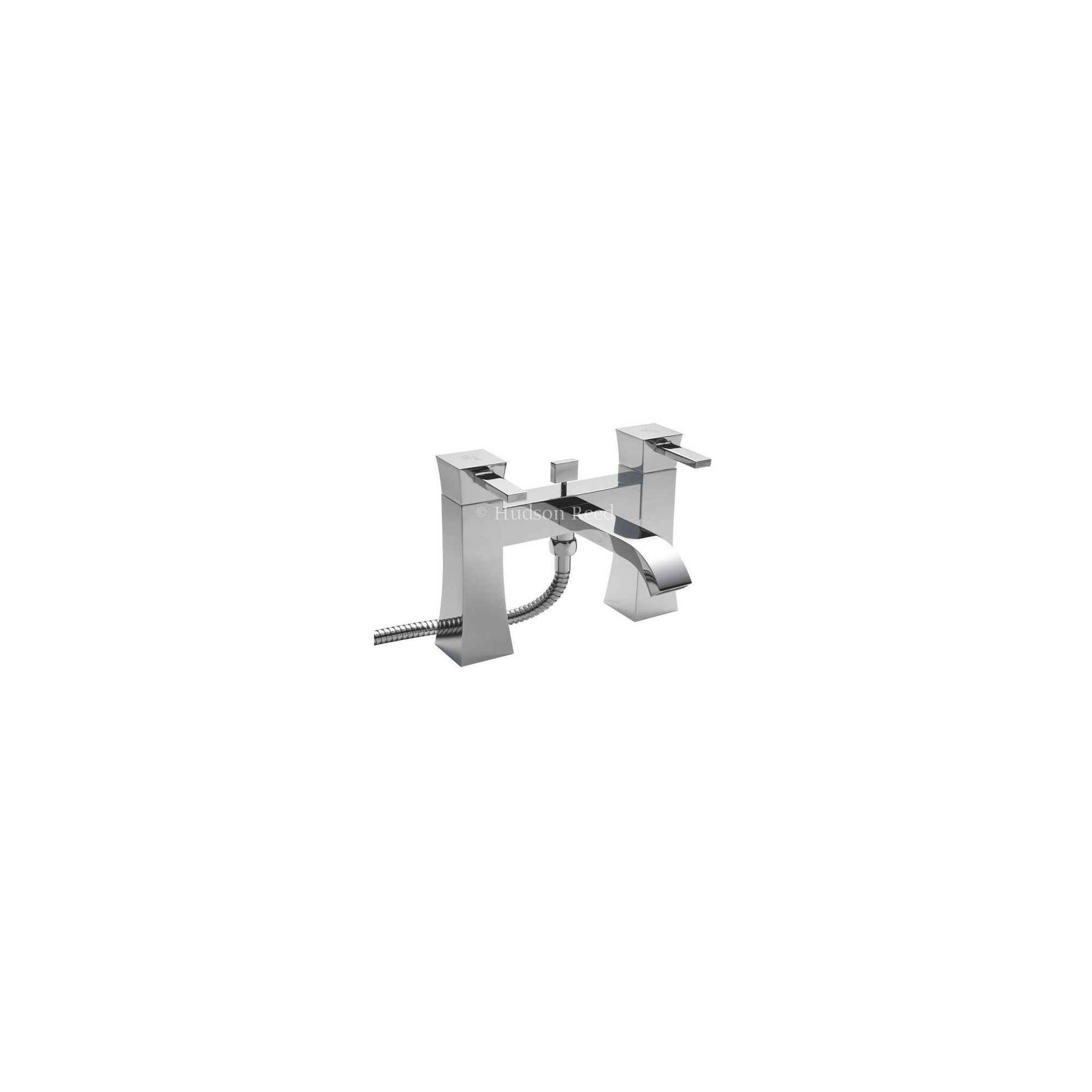 Hudson Reed Harmony Bath Shower Mixer Tap with Shower Kit and Wall Bracket at Tesco Direct