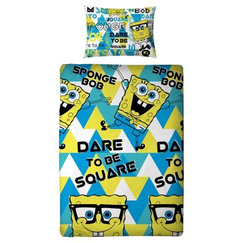 Spongebob Squarepant Duvet Set, Single