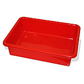 Bigjigs Rail BJT043 Train Table Drawer (Red) (Pack of 2)