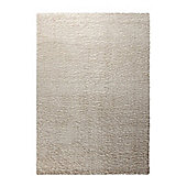 Esprit Cosy Glamour White Woven Rug - 60 cm x 110 cm (2 ft x 3 ft 7 in)