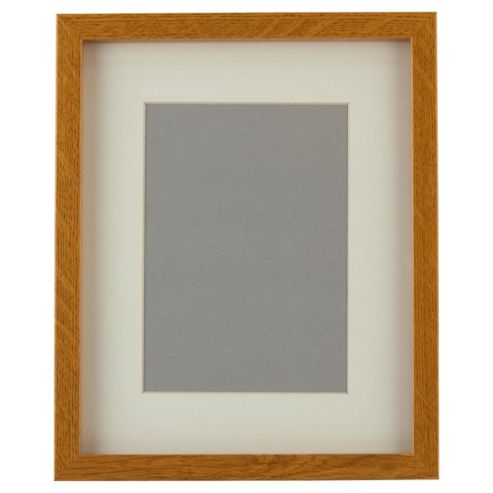 Tesco Basic Photo Frame Oak Effect 8 x 10