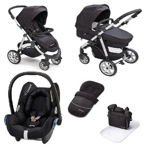 Buy Mee Go Pramette Maxi Cosi Travel System Black From