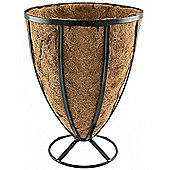 Sleek - Metal Garden Planter / Container - Black