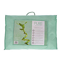 Homescapes Luxury Organic Bamboo Pillow for Side Sleepers, B 42 x L 64 x H 20 cm