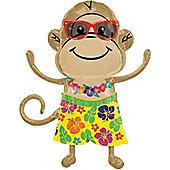 33' Monkey Luau Boy Supershape (each)