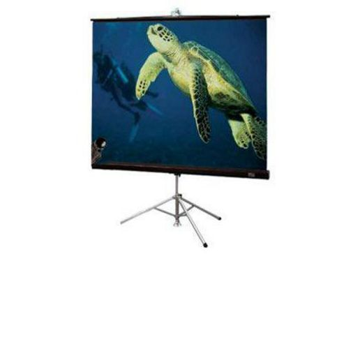Draper Diplomat Tripod 84 inch AV Portable Projection Screen - Matt White