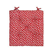 Dickins & Jones Floral Chair Pad