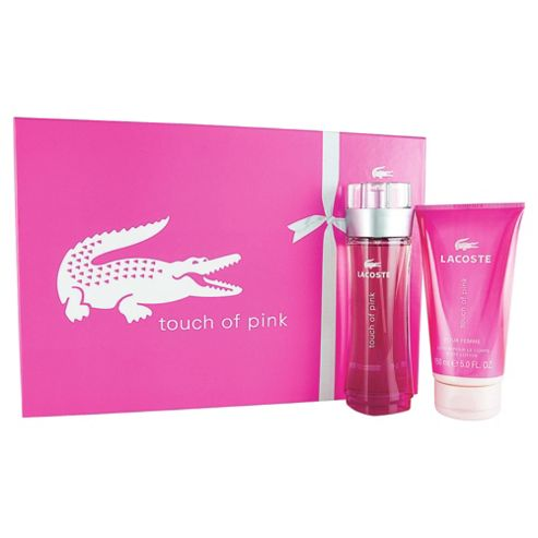 Lacoste Pink EDT 90ml & Bl 150ml