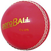 Aero Club Hi-Vis Cricket Ball Sports Balls Junior