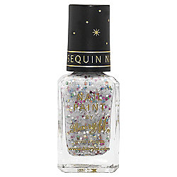 Barry M Sequin Nail Paint 1 White 10Ml