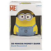 Minion shaped money pot